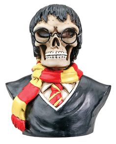 Scary Potter  Collectible Figurine Skeleton Figurines http://amzn.to/2AmvI1D