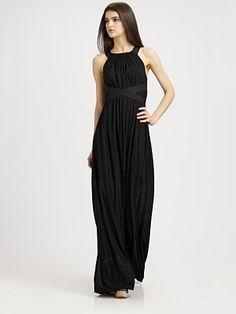 Want. So. Bad.  Theory  Wrenyn Maxi Dress