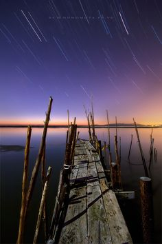 wood pier by Nuno Mota, via 500px