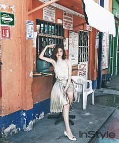 Han Hyo Joo - InStyle Magazine May '14