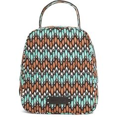 1b6d1568f610 Vera Bradley Lunch Bunch Bag in Sierra Stream ( 24) ❤ liked on Polyvore  featuring
