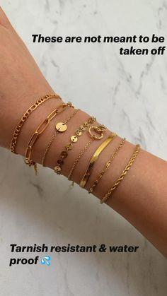 Stylish Jewelry, Cute Jewelry, Boho Jewelry, Jewelry Accessories, Fashion Accessories, Gold Jewellery, Fashion Rings, Fashion Jewelry, Gold Bracelet For Women
