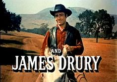 The Virginian.....A Western television series starring James Drury and Doug McClure. (The Men From Shiloh in its final year)