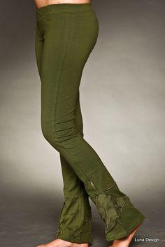 Long Mesh Up Yoga Leggings on Etsy, $68.00