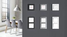 Danfoss Icon™ Dial - Raumthermostat - bauemotion.de Mirror, Furniture, Home Decor, Energy Consumption, Contemporary Design, Decoration Home, Room Decor, Mirrors, Home Furnishings