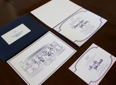 Bermuda Illustration Wedding Invitations--Contact Me!