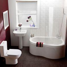 Cozy Small #Bathroom Ideas