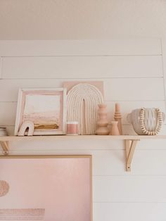 Pink Shelves, Pink Home Decor, Boho Room, Aesthetic Room Decor, Dream Rooms, My New Room, House Rooms, Girl Room, Room Inspiration