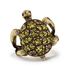 Have perseverance and strength. Burnished brass with glass stones. The turtle symbolizes perseverance. SHOP Avon Online: www.ConnieBye.com Sign Up to SELL Avon: www.BecomeBeautyRep.com #turle #turtoise