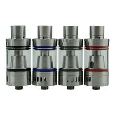 Tesla Tornado Sub Tank - What''s Included:1 x Tesla Tornado tank (0.4 ohm)1 xTesla Tornado TC coil (0.2 ohm)1 x Authenic Gift BoxSpecs & Features:Features top fill for e-liquidVertical Dual Coils TC 0.2 ohms: 380F-550FVertical Single Coil 0.4 ohms: 35W-55WDimensions: 22 X 57 (small tank)4ML Tank CapacityAirflow holes on the top and bottom of the tank8 e-liquid holesDrip tip protects e-liquid from spilling out