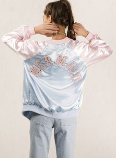 MERMAID BOMBER from The Ragged Priest is absolutely lush! GOALS goals GOALS want WANT want