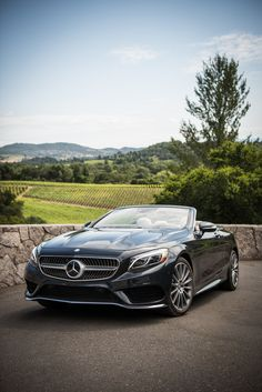 With an open top through the vineyards. Photo by Trent Bona (www.trentbona.photoshelter.com) for #MBphotopass via @mercedesbenzusa