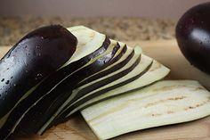 Eggplant Lasagna Recipe - - eggplant prep instructions in this recipe Gluten Free Recipes, Low Carb Recipes, Healthy Recipes, Fast Recipes, Diabetic Recipes, Yummy Recipes, Eggplant Lasagna, Baked Eggplant, Veggie Lasagna