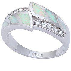 Simulated White Opal