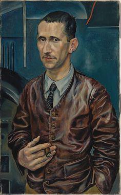 Rudolf Schlichter: Portrait of Bertold Brecht 1928 / Lenbachhaus Munich