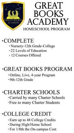 Good Books List - Great Books Academy - OGCS vendor