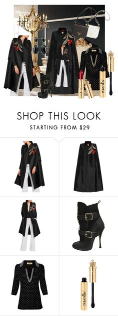 """""""Untitled #8136"""" by snowmoon ❤ liked on Polyvore featuring RVDK and Vivienne Westwood"""