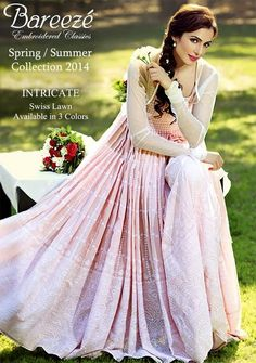 Bareeze Spring-Summer Collection 2014-2015 | New Collections of Bareeze Summer season Dresses - FASHIONPAB