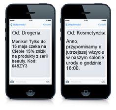Marketing SMS w Twojej branży cz. II – zdrowie i uroda http://www.smsapi.pl/blog/wiedza/marketing-sms-w-twojej-branzy-cz-2-zdrowie-i-uroda/
