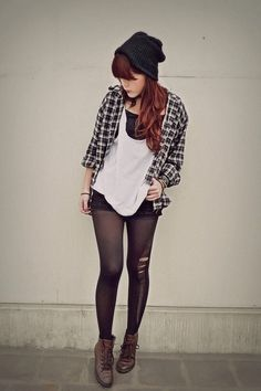 a little bit grunge. I love it all but I need the shoes.