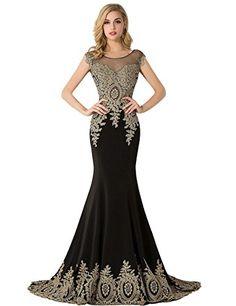 Cap Sleeve Rhinestones Beaded Mermaid Evening Dresses Mis... https://www.amazon.com/dp/B01CE0NA50/ref=cm_sw_r_pi_dp_x_pf8ayb6XMGXEY