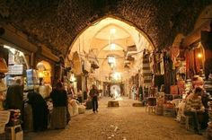 Souk al Mdineh, Aleppo/Syria Mi World, Syrian Jews, Aleppo City, New Urbanism, Damascus, Oh The Places You'll Go, Art And Architecture, Wonderful Places, Beautiful World