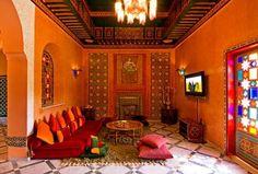 décoration salon style indien