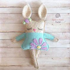 Ragdoll Spring Bunny Free Crochet Pattern
