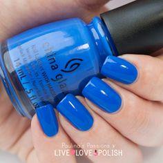 Shop China Glaze Nail Polish on Live Love Polish | Live Love Polish  Color: I sea the point