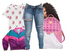 """""""Popsicle ."""" by beautifulme078 ❤ liked on Polyvore featuring MCM"""