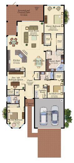 BERMUDA/504 Floor Plan