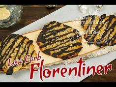 Florentiner Low Carb. Mit wenig Kohlenhydrate und ohne Mehl backen