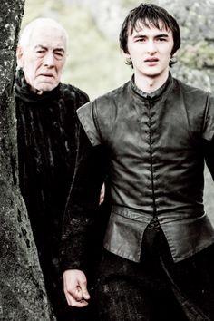 The Three Eyed Raven & Bran 6*5 'The Door'