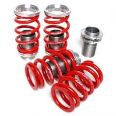 Skunk2 Racing 517-05-1710 Coilover Sleeve Kit Fits 01-05 Civic, aluminum