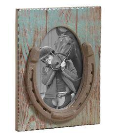 Love this Horseshoe Frame on #zulily! #zulilyfinds