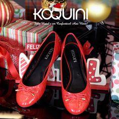 Na cor do Natal #koquini #sapatilhas #euquero #matelasse Compre Online: http://koqu.in/1e5h7w7