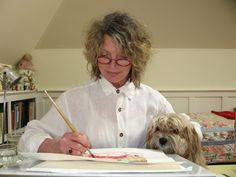 (l-r) Jane Dyer, one of her pictures books with Jane Yolen, The Three Bears…