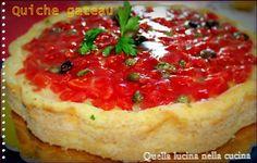 quiche gateau  #tortesalate #ricettesenzaglutine #glutenfree