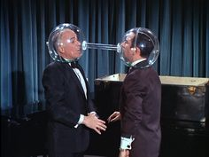Get Smart, The Chief and Max in the cone of silence...