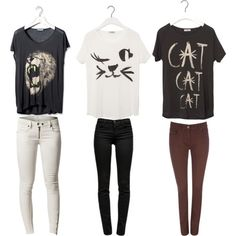 Cat inspired outfits