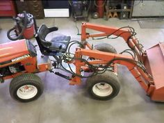 homemade tractor   lazy mind finds easier solutions!