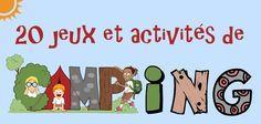 20 jeux de camping et activités pour s'amuser en famille