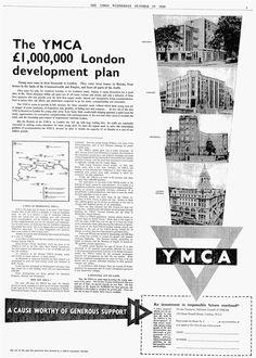 YMCA. 15 October, 1958.