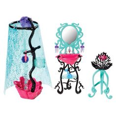 Monster High Bathroom/Vanity Playset