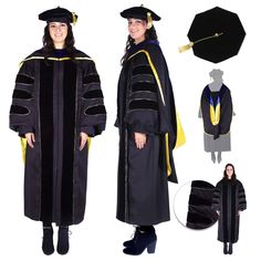 Masters Graduation Pictures Discover Premium Black Complete Doctoral Regalia Doctoral Regalia set for PhD graduates. Official design PhD Gown Hood and Cap made of premium material and detailed tailoring. Graduation Hood, Graduation Regalia, Graduation Gowns, Doctoral Gown, Doctoral Regalia, Graduation Party Planning, Graduation Ideas, Graduation Photoshoot, Carnival