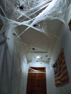 decoracion de halloween para fiestas en casa