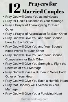 I love this list of prayers for married couples. Marriage prayers are a key step for couples wanting to strengthen their relationship and fulfill God's purpose in their marriage. Prayer For My Marriage, Prayer For Married Couples, Marriage Help, Godly Marriage, Healthy Marriage, Marriage Goals, Marriage Relationship, Happy Marriage, Marriage Advice