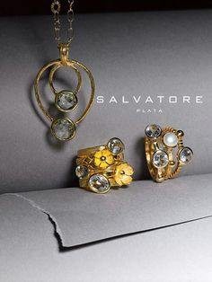 These pieces are from Salvatore Plata, one of our featured designers from Spain. Pieces available exclusively at shows and events or by special order!