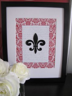 fleur de lis :) I think I will make this tonight after class!!