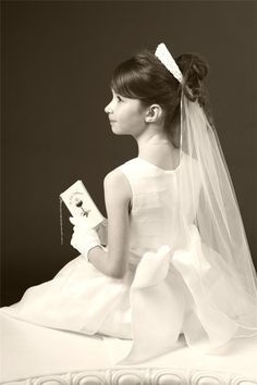 First Communion Portraits in Rhode Island - EG Photo & Studio